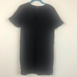 Madewell Shift Black LBD Dress